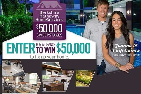 Hgtv 50 000 Giveaway - win 50k in hgtv s fixer upper sweepstakes sweepstakesbible