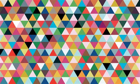 colorful triangle pattern wallpaper geometric triangle wallpaper wallpapersafari