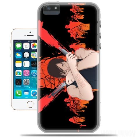 Iphone Iphone 5s Daryl Dixon The Walking Dead Cover 2 Coque Iphone 5s The Walking Dead Daryl Dixon