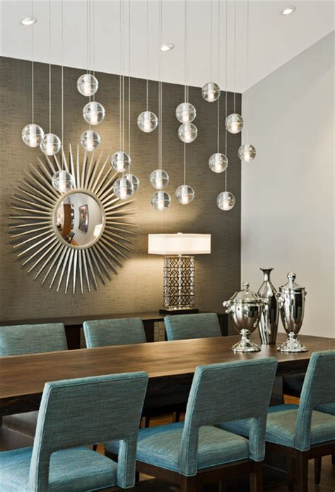 Modern Lighting For Dining Room | tyrol hills modern midcentury dining room