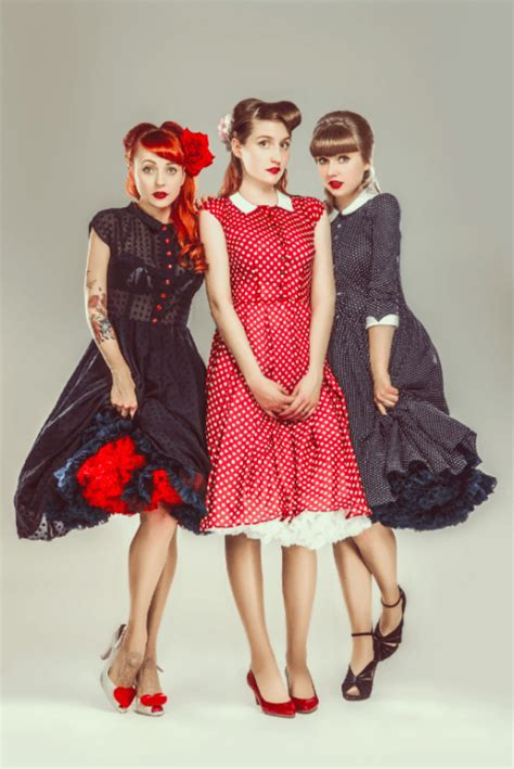 Swing Style Kleidung by Petticoat Kleider Pinup Fashion De