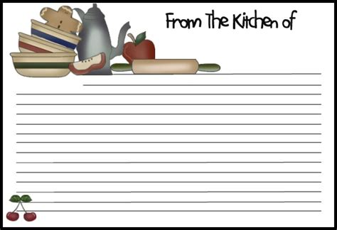 recipe card template for 13 recipe card templates excel pdf formats