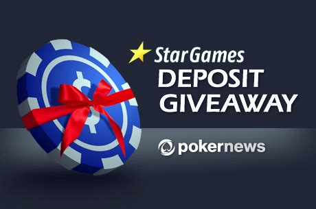 Bad Poker Players Giveaway - introducing stargames poker and its deposit giveaway promotion pokernews