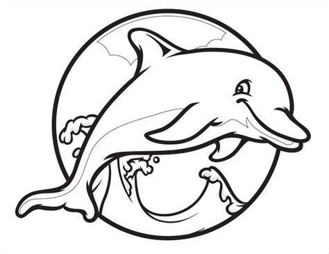dolphin coloring page printable printable dolphin pictures dolphin free printable