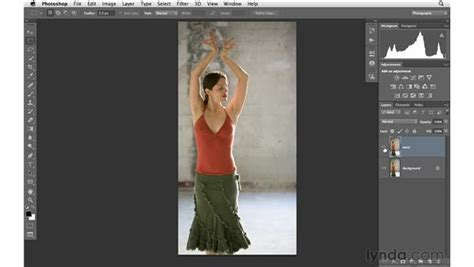 tutorial photoshop warp modifying the body with the warp tool