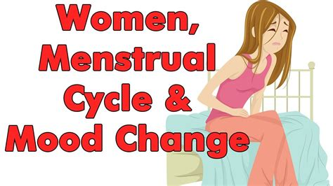 mood swings during period women menstrual and mood change youtube