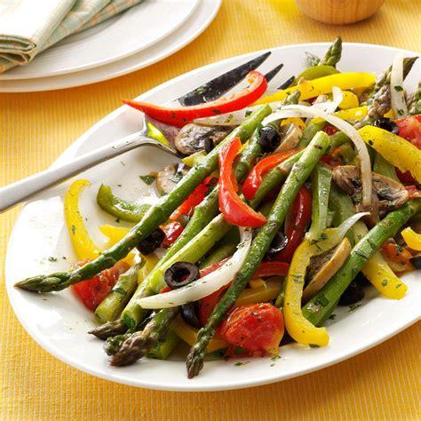 grilled asparagus medley recipe taste of home