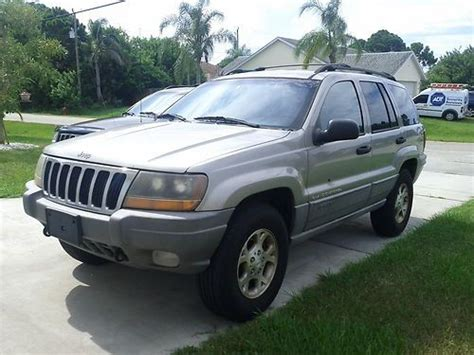 2000 Jeep Grand Limited 4x4 Buy Used 2000 Jeep Grand Laredo 4x4 V8 In Port