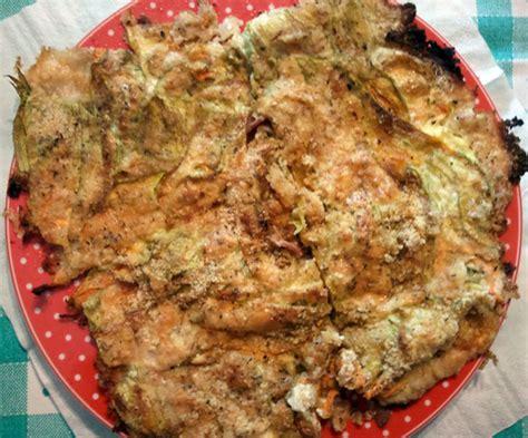 ricette fiori di zucchina ricetta sformato di fiori di zucchina con prosciutto crudo
