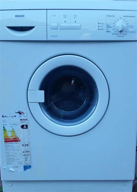 Bosch Sportline Waschmaschine 4677 by Waschmaschine Bosch Wgf 2070 In Bad Reichenhall