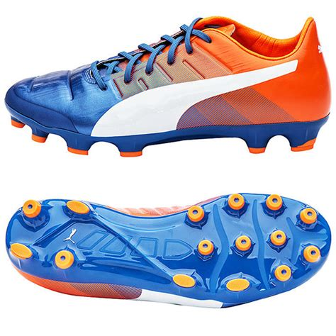 orange football shoes 2016 mens evopower 4 3 ag soccer cleats football