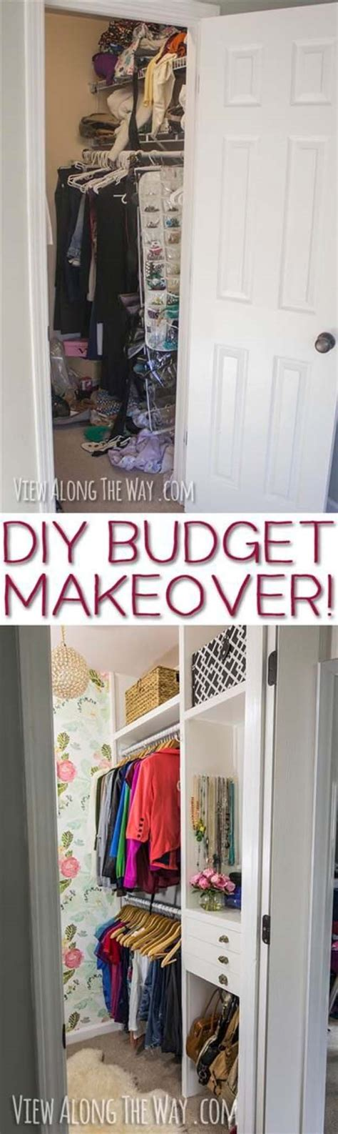 Wardrobe Makeover Ideas by 31 Closet Organizing Hacks And Organization Ideas Diy