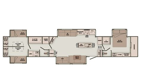 fifth wheel cer floor plans 2 bedroom 5th wheel trailers 28 images fifth wheel 2