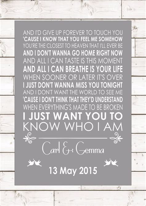 Wedding Song Goo Goo Dolls by Best 25 Anniversary Quotes Ideas On