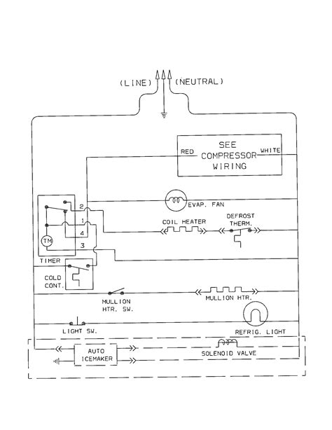 wiring diagram of free refrigerator wiring diagram