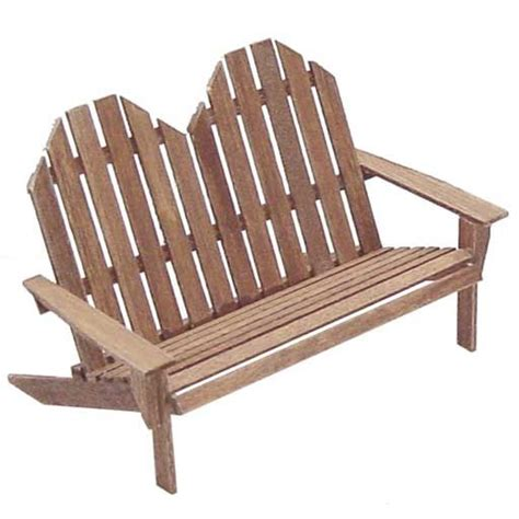 adirondack settee adirondack settee plans free woodworking projects plans