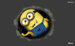 Despicable me minions with dark background hd wallpaper