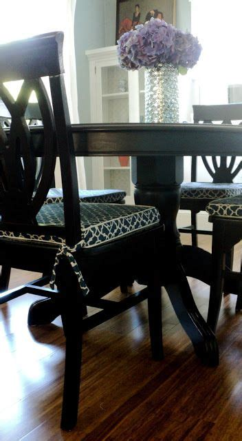 dining chair slipcover tutorial 1000 ideas about dining chair cushions on pinterest
