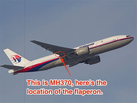 what is section 370 possible mh370 debris could be a flaperon here s what