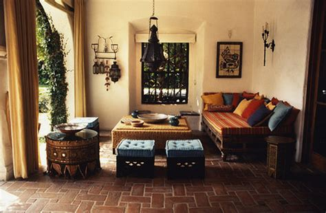 Indian Inspired Living Room by Moroccan Patios For Courtyards Ultimate Home Ideas