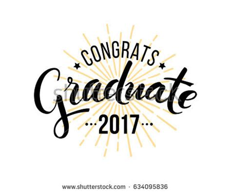 Wedding Congratulations Logo by Congratulations Graduate 2017 Vector Isolated Elements