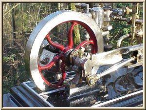 cretors model  popcorn engine