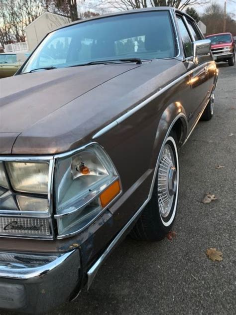 how to work on cars 1987 lincoln continental mark vii electronic throttle control 1987 lincoln continental 40 000 miles needs some work no reserve classic lincoln