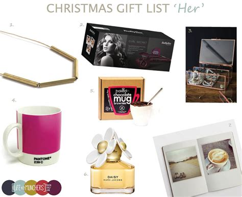 christmas gift guide for her family home lifestyle