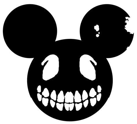 mickey mouse ears silhouette free download clip art