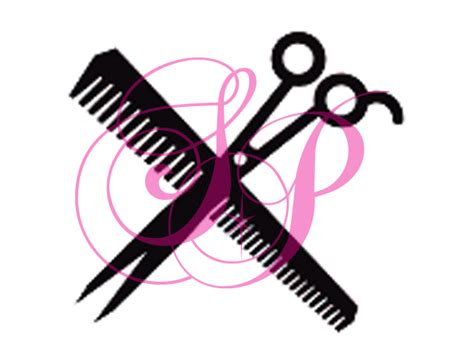 and scissors stencil scissors and comb set of 6 shimmer pros