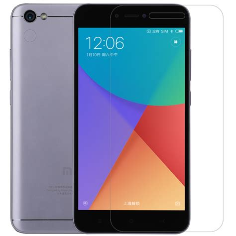 Soft Anticrack Xiaomi Redmi Note 5a Temperedglass nillkin clear soft screen protector for xiaomi redmi note 5a xiaomi redmi note 5a global edition