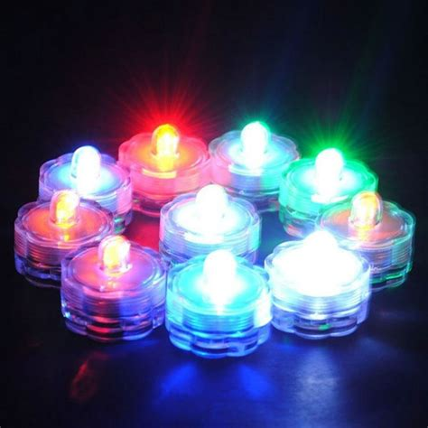 Floral Lights For Vases by 200pcs Lot Submersible Led Tea Light Underwater Waterproof