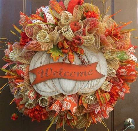Diy Fall Wreaths Design Ideas Beautiful Cool Fall Thanksgiving Wreath Ideas To Make Family Net Guide To Family