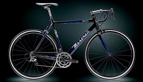 maserati bike maserati lends name to carbon fiber infused pushbike