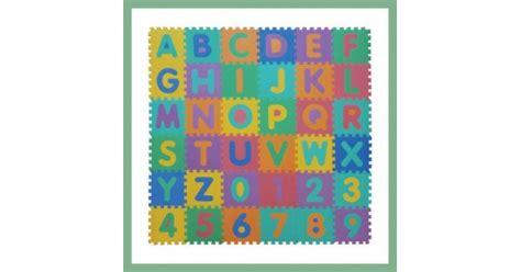 tappeto puzzle atossico tappeto puzzle atossico per bambini alfabeto e numeri