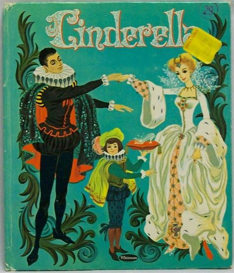 cinderella picture book htf vintage 1961 cinderella top top tales whitman book