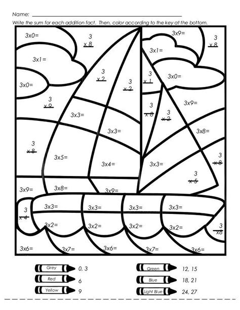 elementary math coloring pages 355 best elementary math k 6 images on pinterest 4th
