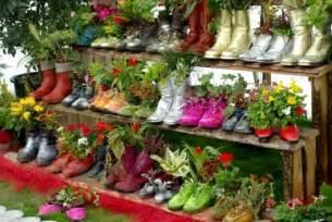 Small Kitchen Garden Ideas Garten Design Deko Ideen Schuhe Bepflanzen Upcycling