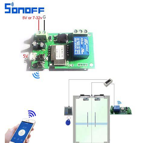 Access Relay Module by Sonoff Wifi Switch Wireless Relay Module Smart Home