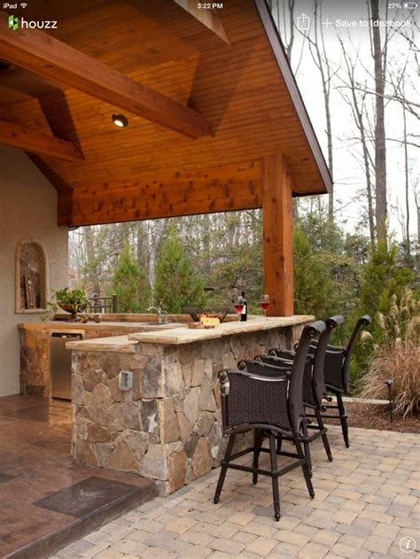 the amazing of rustic outdoor kitchen ideas tedx designs bar on patio custom home patio pinterest