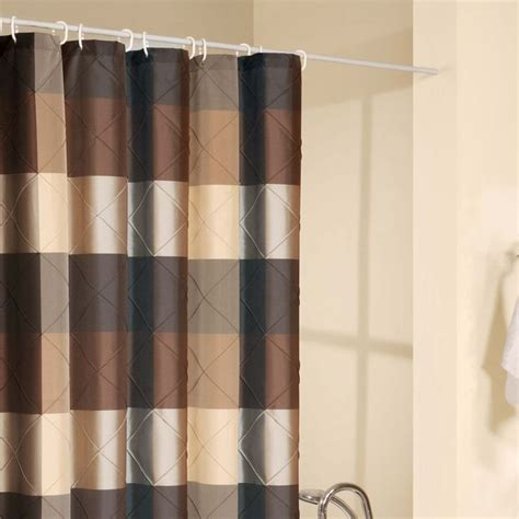 shower curtain drapes 15 best ideas about brown shower curtains on pinterest