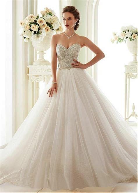 Robe De Mariée Princesse Bustier Paillette - 1001 id 233 es pour trouver la meilleure robe de mari 233 e bustier