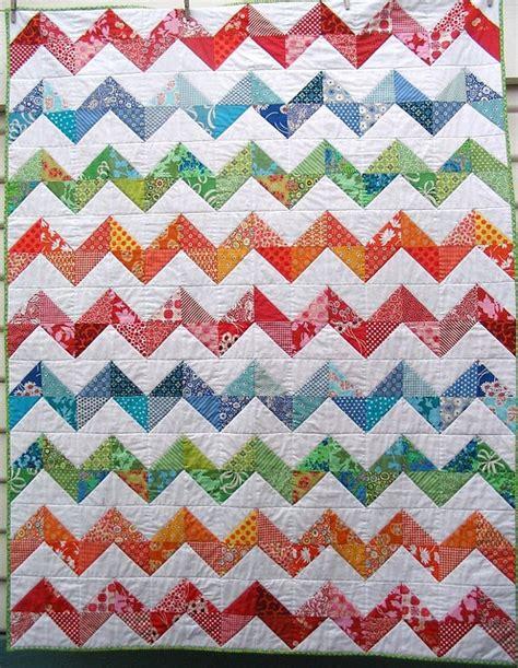 chevron zig zag quilt pattern 1000 images about chevron quilts on pinterest chevron
