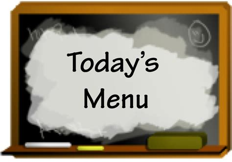 today s today s menu marisa s kitchen talk