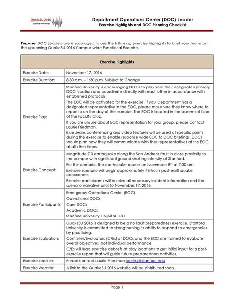 tabletop exercise template tabletop exercise template designer tables reference