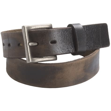 leather island by bill lavin distressed leather belt for