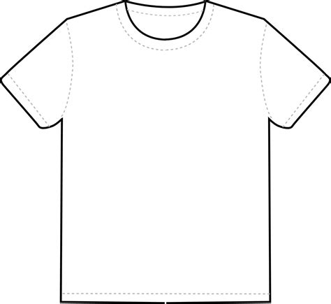 printable blank tshirt template blank shirt template with blank white vector t shirt