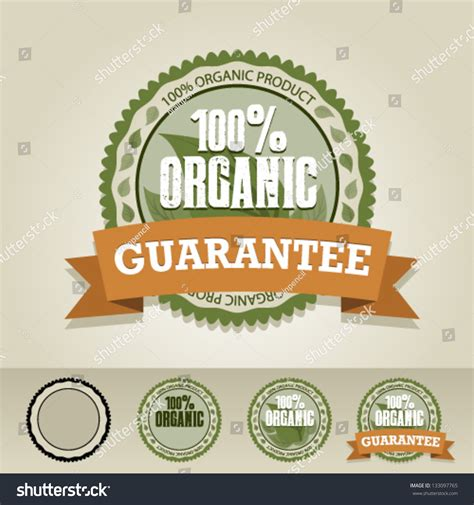 label graphic design organic food vector label graphic design editable for