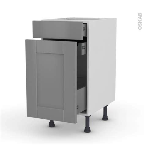 meuble de cuisine range 233 pice filipen gris 3 tiroirs l40 x