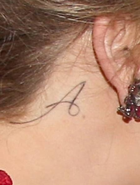 adele tattoo behind ear behind ear name tattoo ideas
